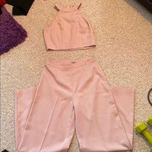 💕NWOT💕 Charlotte Russe 2 piece jumpsuit